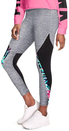 Victoria Secret Vs Pink Bling Perfect Tee Clothing, Shoes & Accessories Women's Clothing Black Cotton Yoga Leggings L Set New Ideal Gift For All Occasions
