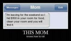 Mom's humor