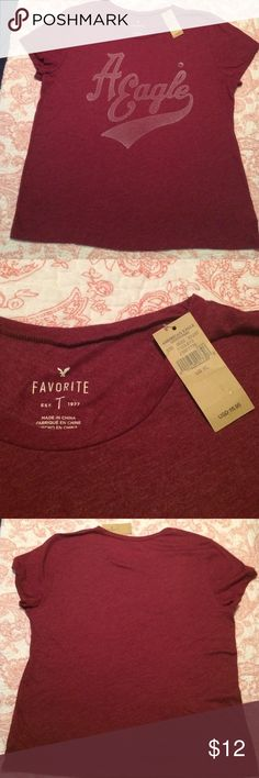 New with Tags American Eagle T shirt American Eagle T Shirt- New with Tags. New condition. Pet free smoke free home. American Eagle Outfitters Tops Tees - Short Sleeve