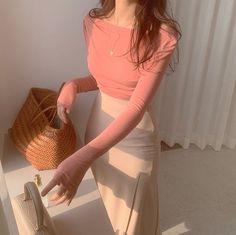 Korean Girl Fashion, Ulzzang Fashion, Korean Street Fashion, Look Fashion, Cute Asian Fashion, Japanese Fashion, Fashion Women, Fashion Trends, Teen Fashion Outfits