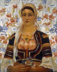 Vladimir Dimitrov Maistora - Girl from Kalotina village