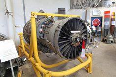 SNECMA - P & W TF 106 Jet Engine, powered the Mirage IIIV