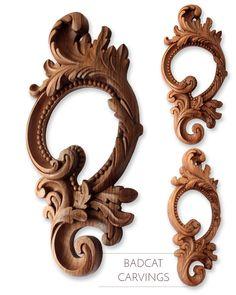 Ornamental frames | Hand carved ornamental frames