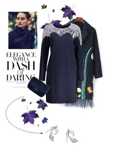 """Blue for winter"" by stellina-from-the-italian-glam ❤ liked on Polyvore featuring Bibi"