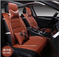 Luxury Leather PU leather Car Seat Covers Car 5 Seat Protection Cover for Chevy Avalanche Colorado Equinox CK Pickup Silverado #Affiliate