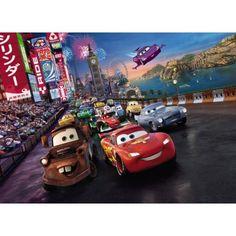 [ Popular Disney Cars Mural For Kids Children Amp Nursery Room Pixar Wall Stickers Art Decals Murals ] - Best Free Home Design Idea & Inspiration Disney Pixar Cars, Walt Disney, Disney Movies, Cars 2 Movie, Film Cars, Movie Tv, Bonnie Hunt, Lightning Mcqueen, Photo Backgrounds