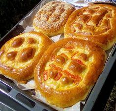 Τα πιο αφράτα αλμυρά ψωμάκια τώρα και γεμιστά! Waffles, Rolls, Pizza, Nutrition, Favorite Recipes, Breakfast, Cake, Health, Food