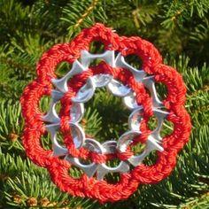 Pop Tab Christmas Ornament