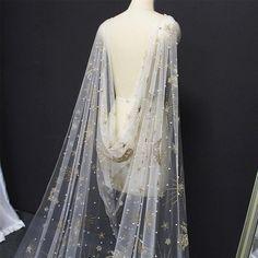 Wedding Night, Dream Wedding, Star Wars Wedding, Celestial Wedding, Lace Bolero, Bridal Cape, Tulle Wedding, Wedding Cape Veil, Color Wedding Dresses