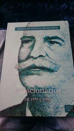 Album moedas brasileiras - Anos Inflacionarios