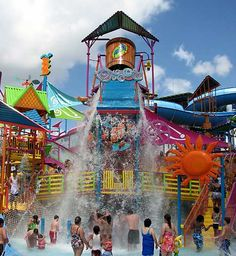 This is at SeaWorld's Aquatica - Orlando's newest water park. You may have this with FREE Parking and the visit is FREE also with the SeaWorld Plus ticket.