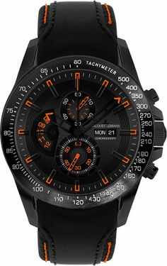 Jacques Lemans Men's 1-1635D Liverpool DayDate Sport Analog with DayDate Watch