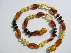 Elegant Healing Baltic Amber Baby Teething by BalticAmberPalanga, $12.99