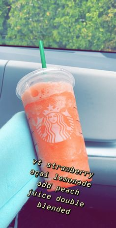 Starbucks Hacks, Bebidas Do Starbucks, Healthy Starbucks Drinks, Starbucks Secret Menu Drinks, Starbucks Refreshers, Yummy Drinks, Starbucks Drinks Without Coffee, Vodka Drinks, Drinks Alcohol