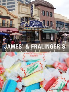James' Candy & Fralinger's Salt Water Taffy from the Boardwalk in Atlantic City | Snack Fixation