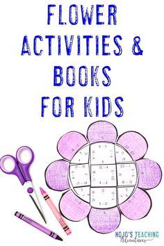 Spring activities for kids and great picture book and chapter book recommendations can all be found at this blog post. Click through to find math, literacy, and editable puzzle options that work for your 1st, 2nd, 3rd, 4th, 5th, 6th, 7th, or 8th grade students. Keep them engaged, having fun, and learning all springtime long with these NO PREP puzzle options! There's even a FREE puzzle option to test out. #HoJoTeaches #Spring Flower Activities For Kids, Spring Activities, Book Activities, Math Literacy, Fun Math, Teaching Math, Teaching Ideas, 5th Grade Classroom, Middle School Classroom