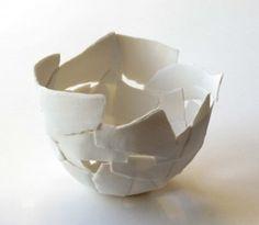 coupe biscuit de porcelaine