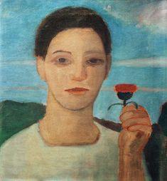 Paula Modersohn-Becker-Porträt Herma