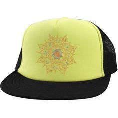 Tribal Flower Trucker Hat