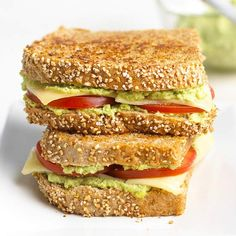 Protein: 22 grams per serving Edamame, the edible soybean that has a whopping 16 grams of protein per cup, combines with lemon juice and garlic for a yummy spread. Spread the soybean paste on a grown-up grilled cheese sandwich for zippy flavor and extra nutrients.