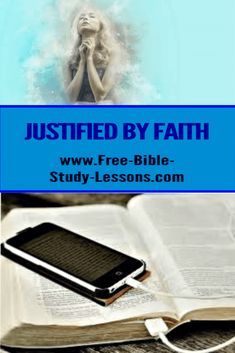 A look at Romans the justified shall live by faith. Bible Study Lessons, Free Bible Study, Justified By Faith, Bible Commentary, Hope In God, Jesus Face, Mean People, Jesus Is Lord, Simple Words