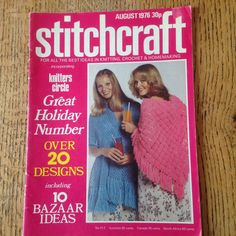 A personal favourite from my Etsy shop https://www.etsy.com/uk/listing/288795363/vintage-stitchcraft-knitting-and