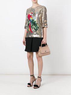 Dolce & Gabbana Blusa com paetês
