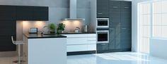 Keittiökalusteet - Petra ja A La Carte keittiöt - Keittiömaailma Parma, Cool Kitchens, Kitchen Design, Nice Kitchen, New Homes, Kitchen Cabinets, Loft, Colours, Interior Design