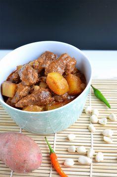 [Thai Cuisine] Massaman Curry mit Rindfleisch Rezept von @sarahkrisenherd
