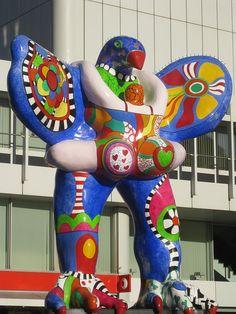 Sculpture by Niki de Saint Phalle