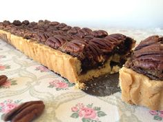 Tizi cooks: Tarte chocolat noix de pécan