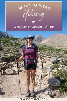 What to Wear Hiking - Bearfoot Theory Hiking Dress, Cute Hiking Outfit, Hiking Hat, Summer Hiking Outfit, Best Hiking Shoes, Summer Outfits, Hiking Backpack, Outfit Winter, Quoi Porter