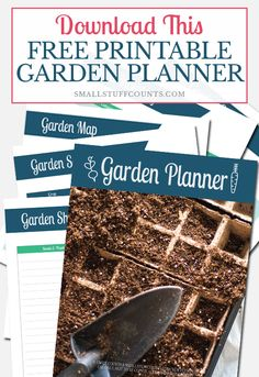 Planning a garden this year? Download this free garden planner printable and learn how to start a garden for beginners. Then stop by @theisensHFA for all of your gardening supplies! #ad #gardening #garden #vegetablegardening #seedstarting