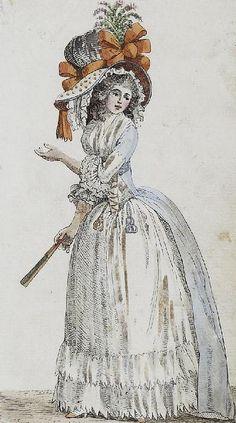 Dame 1788 by Karl Friedrich Molberg, via Flickr