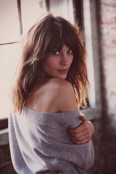 Alexa Chung is always great hair inspiration.