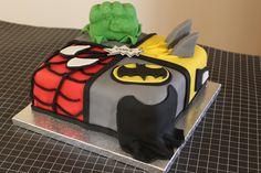 Avengers Birthday Cake  Birthday Ideas  Pinterest  Birthdays, Cakes ...