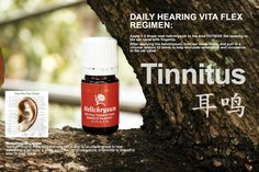 Young Living Helichrysum Essential Oil: Tinnitus (Young living.com member# 1242739)