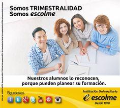 @Escolmeeduco ¡Con la trimestralidad puedes planear tu formación!