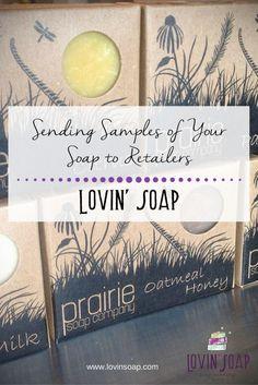 Sending Samples of Your Soap to Retailers - Lovin Soap Studio - Soap   Handmade Soap   DIY Soap   Soap Making   Soapmaking   Learn to make soap   Natural Soap   Soap Recipe   Soap Tutorial