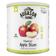 Augason Farms Emergency Food Dehydrated Apple Slices 19.2 oz
