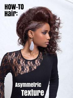 HOW-TO HAIR: Asymmetric Texture Hair Braid #braid #hairstyle #beauty #beautiful #model #fashion #lovely #tutorial #hairtutorial