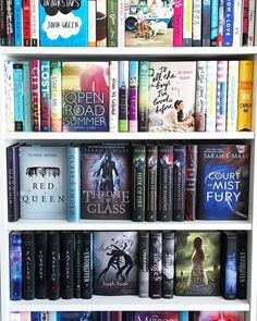 need to organise my bookcase like this but im lazy so...