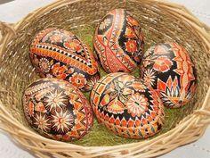 kraslice batikované halúzkové