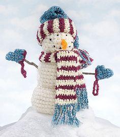 Make It Crochet | Your Daily Dose of Crochet Beauty | Free Crochet Pattern: Snowman