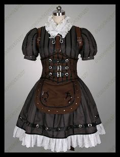 procosplay: Deluxe Alice Madness Returns Steamdress Cosplay Costumes (Etsy: $134.00)