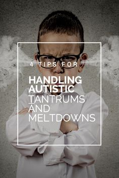 When you are raising Autistic kids, meltdowns are going to happen, here's 4 tips on how to minimize meltdowns.