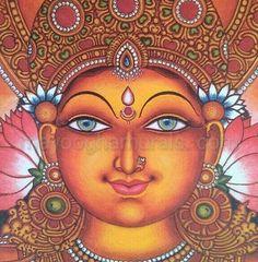 Mayoogha Mural Painting arts gallery is online art gallery-Guruvayoor is an innovative initiative by Mural artist Sastrasarman Prasad. Modern Indian Art, Indian Folk Art, Ancient Indian Art, Indian Artwork, Kerala Mural Painting, Dot Art Painting, Mysore Painting, Pichwai Paintings, Modern Art Paintings