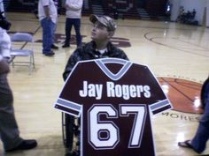 Jay's Warriors was formed in 2006 for Jay Rogers. Jay was diagnosed on Nov. 14, 2005 with Ewing's Sarcoma. This site is made to show love and support for Jay.  http://www.facebook.com/pages/Jays-Warriors/357720607654499?sk=info