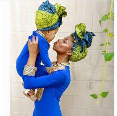 Choose from the best and beautiful matching African ankara styles for mother and daughter. These ankara styles are meant for stunning mother and daughter African Wear, African Attire, African Women, African Dress, African Fashion, African Style, Ankara Fashion, Style Africain, African Accessories