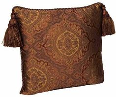 ACCENT PILLOWS by Reilly-Chance Collections: Pillow Brussels #2...(18x18)